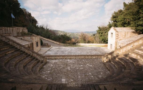The open amphitheater Mikis Theodorakis of Embrosneros